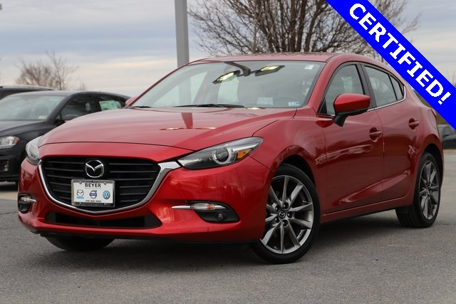 Certified Pre-Owned 2018 Mazda3 Grand Touring CPO