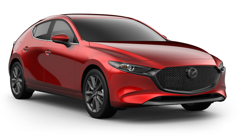 New 2019 Mazda3 Preferred w/Preferred Package
