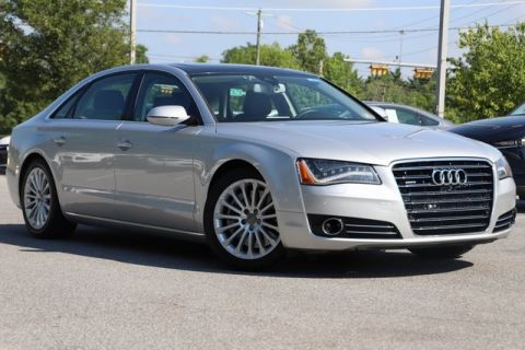 Pre-Owned 2014 Audi A8 L 4.0T With Navigation